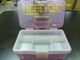Rectángulo plástico Hsyy3104 del envase de almacenaje de la alta calidad caliente de la venta