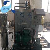 中国の工場からの炭酸ガス水飲料の満ちるびん詰めにする機械