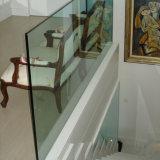 Het Traliewerk van het Glas van Frameless met het Kanaal van U van het Aluminium/het Traliewerk van het Balkon