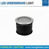 LED do caminho do pátio piscina PI65 18W luz subterrâneo do LED