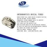 Tubes buccaux orthodontiques de dents aucun crochet de bille avec les tubes MIM simples d'OIN ęr de FDA de la CE