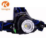 再充電可能なヘッドライトのアルミ合金LEDの間隔の高品質のヘッドライト