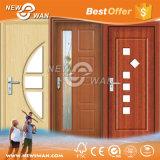 内部PVCドア/プラスチック木のドアの価格