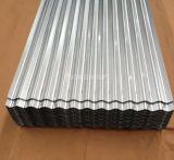 La azotea anti del Galvalume de Corrossion cubre el panel de pared de acero acanalado de Aluzinc