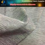 Ткань вереска жаккарда серая высокая эластичная для одежды
