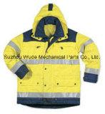 Пвх/PU Non-Breathable/PU Дышащий слой пиджак полиэстер Оксфорд ПВХ Parka одежды