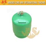 Bombola per gas utilizzata di campeggio per il servizio dell'Africa