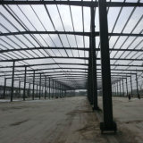 Struttura d'acciaio del metallo prefabbricato esportata in Africa