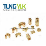 Pezzi meccanici di giro di CNC di alta precisione fatti di ottone