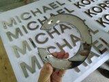 LED voie lettre signer la lettre que le métal en acier inoxydable de panneaux de signalisation