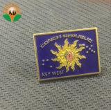 BSCI de metal de la fábrica de esmalte de los Anillos Olímpicos insignia de solapa para regalo (xd-0912)
