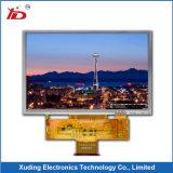 5.0 visualización del `800*480 TFT LCD con el panel de tacto