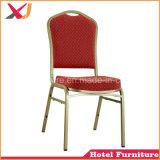Aluminio Acero apilable Hotel banquete de bodas Silla para muebles de comedor