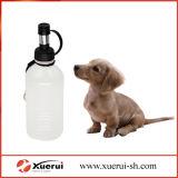 Bottiglia bevente del cane, bottiglia di acqua pieghevole di corsa degli animali domestici