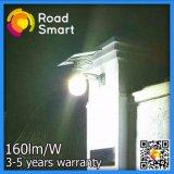 Indicatore luminoso solare della parete della via del giardino dei prodotti LED di alto potere con il sensore di movimento di microonda