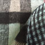 女性のための重い毛織のコートファブリック、毛織ファブリック、編まれたツイードファブリック