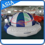 Barca gonfiabile della discoteca del giocattolo dell'acqua, UFO pazzesco della barca gonfiabile della discoteca, attuatore gonfiabile commerciale del Saturno per gli adulti