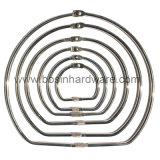 Никелированные металлические уплотнительные кольца для скрепления клеем