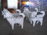 La décoration du festival 3D'Animaux du zodiaque décoration les lampes LED