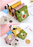 新しく小さい猫の硬貨の財布のかわいい子供の漫画の札入れのKawaii袋の硬貨の袋の子供の財布のホールダーの女性の硬貨の札入れ袋