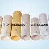 PPS aiguille feutre Sac filtre de collecteur de poussière