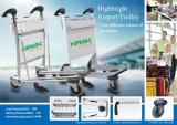Аэропорт Passanger багажа выполните тележки