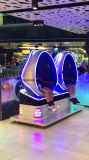 De forma ovalada de 360 juegos de simulador de realidad virtual casco panorámica