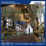 Planta de refinería del aceite de mesa de la planta del refino de petróleo de cacahuete
