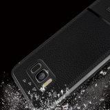 Мобильный телефон Shell Anti-Drop Litchi шаблон канавы Защитная крышка для Samsung Galaxy Примечание S8 S8 плюс