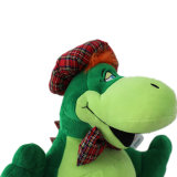 Het leuke Groene Stuk speelgoed van de Pluche van de Dinosaurus