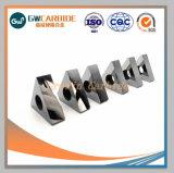 Inserts de carbure de tungstène solide pour les outils de coupe