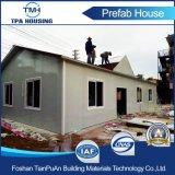 Casa modular de acero del panel de emparedado de la ripia del asfalto en escuela