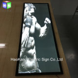 Het muur Opgezette Frame van de Affiche van de leiden- Film met het Magnetische Backlit Frame van het Aluminium voor de Reclame van Vertoning
