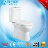 Salle de bain de rinçage de l'eau de toilette en céramique avec BC-1319
