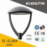 Lámpara del jardín de Everlite 40W LED con la clase del GS de los CB del Ce de ENEC II