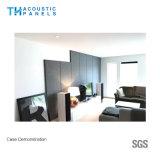Panneau acoustique couvert de tissu décoratif intérieur amical de fibre de polyester d'Eco pour l'hôtel
