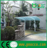 Bom Efeito sobre o alumínio anti UV Telheiro do teto de policarbonato