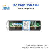 Piccolo chip da tavolino di marca di RAM DDR3 1333MHz di memoria della scheda 2GB del PWB