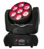 têtes mobiles de faisceau lumineux d'effet d'étape de 7X10W RGBW 4 in-1 DEL
