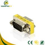 Het Mannetje van de Macht van pvc van RoHS aan Mannelijke VGA Adapter