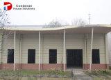 Huizen met hoge weerstand van de Container van het Frame van het Staal de Modulaire