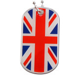 Baratos personalizados metal estampado Dog Tag (DT-036)