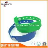 Браслет высокого качества водоустойчивый устранимый RFID с логосом напечатал