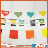 Adverterende Kleurrijke Niet-toxische Bunting van de Driehoek Vlag