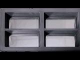 De aangepaste 1kg Vacuüm Gietende Machine van het Passement voor de Gouden Zilveren Staaf van de Staaf