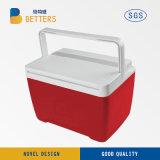 Mini refrigerador del coche/rectángulo plástico de un refrigerador más caliente para la comida campestre
