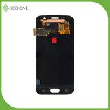 100% Garantie-Handy LCD für Samsung S7 mit Rahmen-Schwarz-Farbe