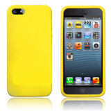 Protector suave estupendo llano de la piel de la cubierta de la caja del gel del caucho de silicón para el iPhone 7 7s