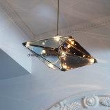 レプリカデザイナー熱い販売装飾のための現代ガラスLED吊り下げ式ライト