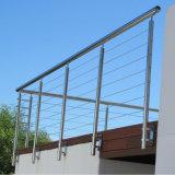 鋼鉄ケーブルのガードレール/ステンレス鋼ワイヤーガードレール